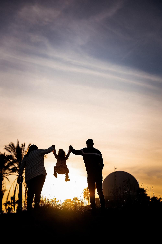 Fotos de familia en planetario de Castellon