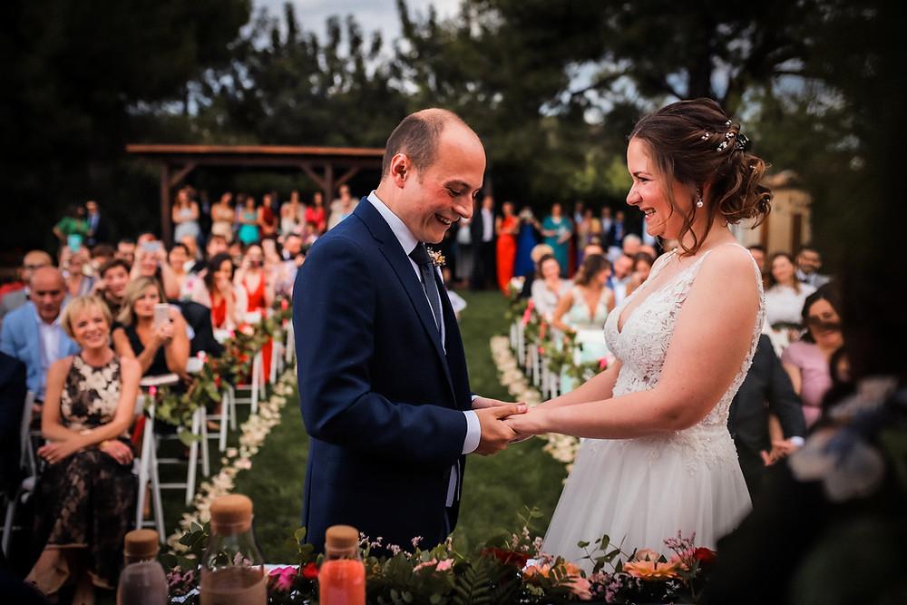 boda civil en masia durba