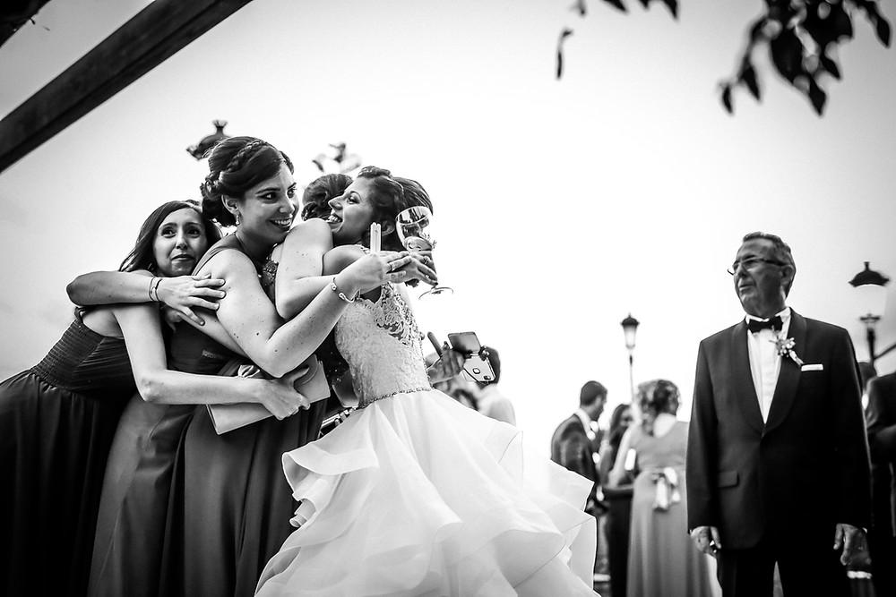 boda con amigas