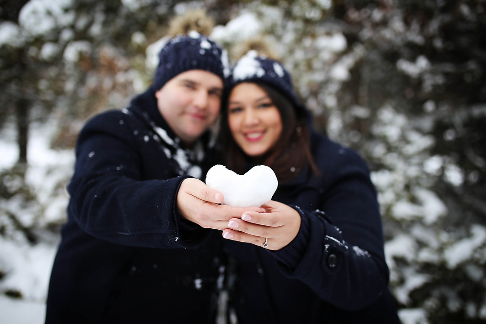 regalo san valentin, reportaje fotos, sesion fotos pareja nieve