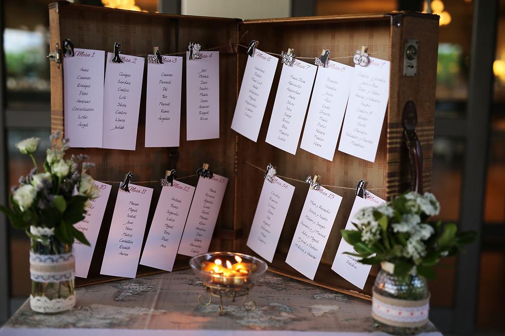 tienda online molona bodas, boda originales sitting mesas