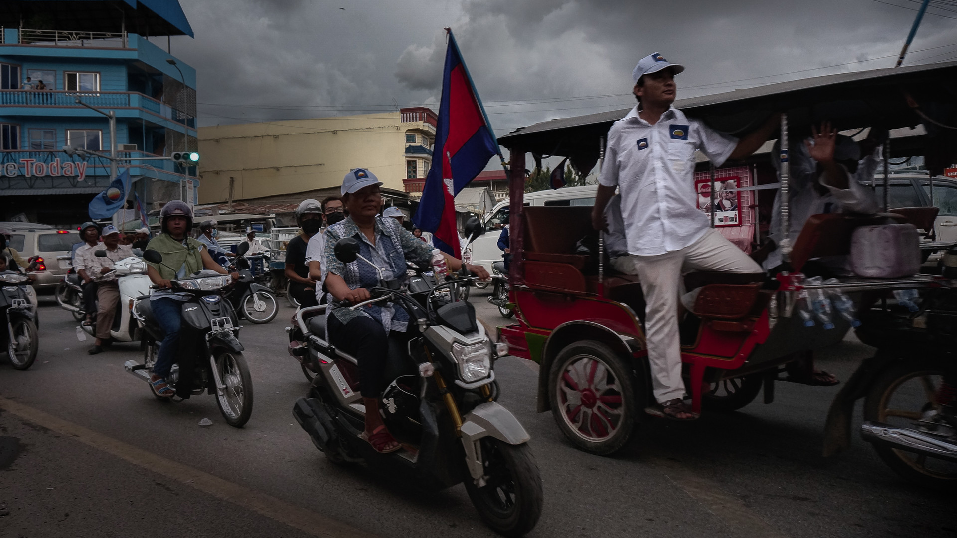 Cambodian commune elections in 2017 resulted in a big win for the ruling party who have been in power for over 30 years. For a personal project