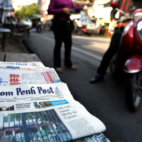 Phnom Penh Post sale another nail in coffin for press freedom