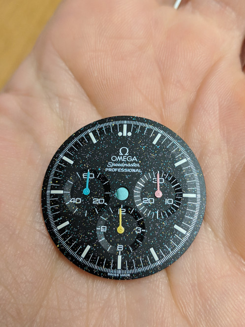 Custom Omega Speedmaster Professional Dial And Subdial Hands
