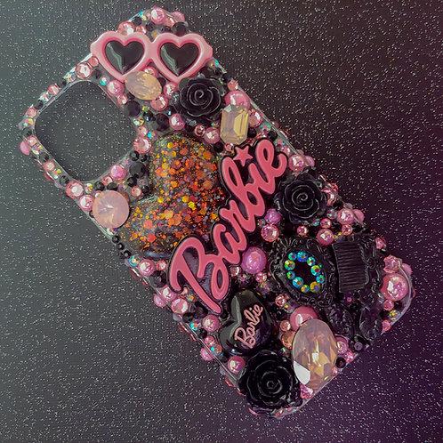 iPhone 12 : Barbie Glam Doll Black