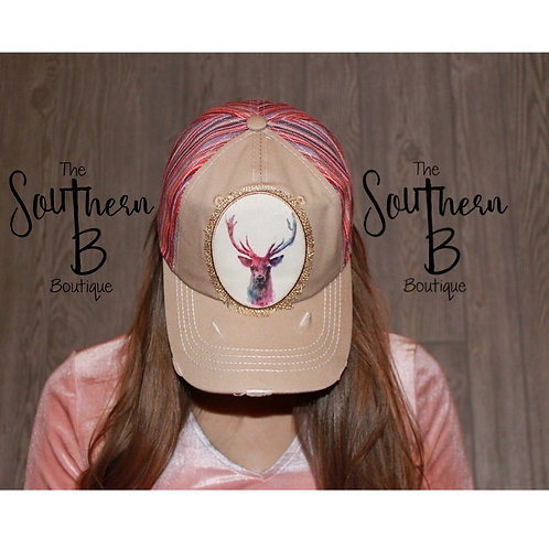Watercolor Buck hat