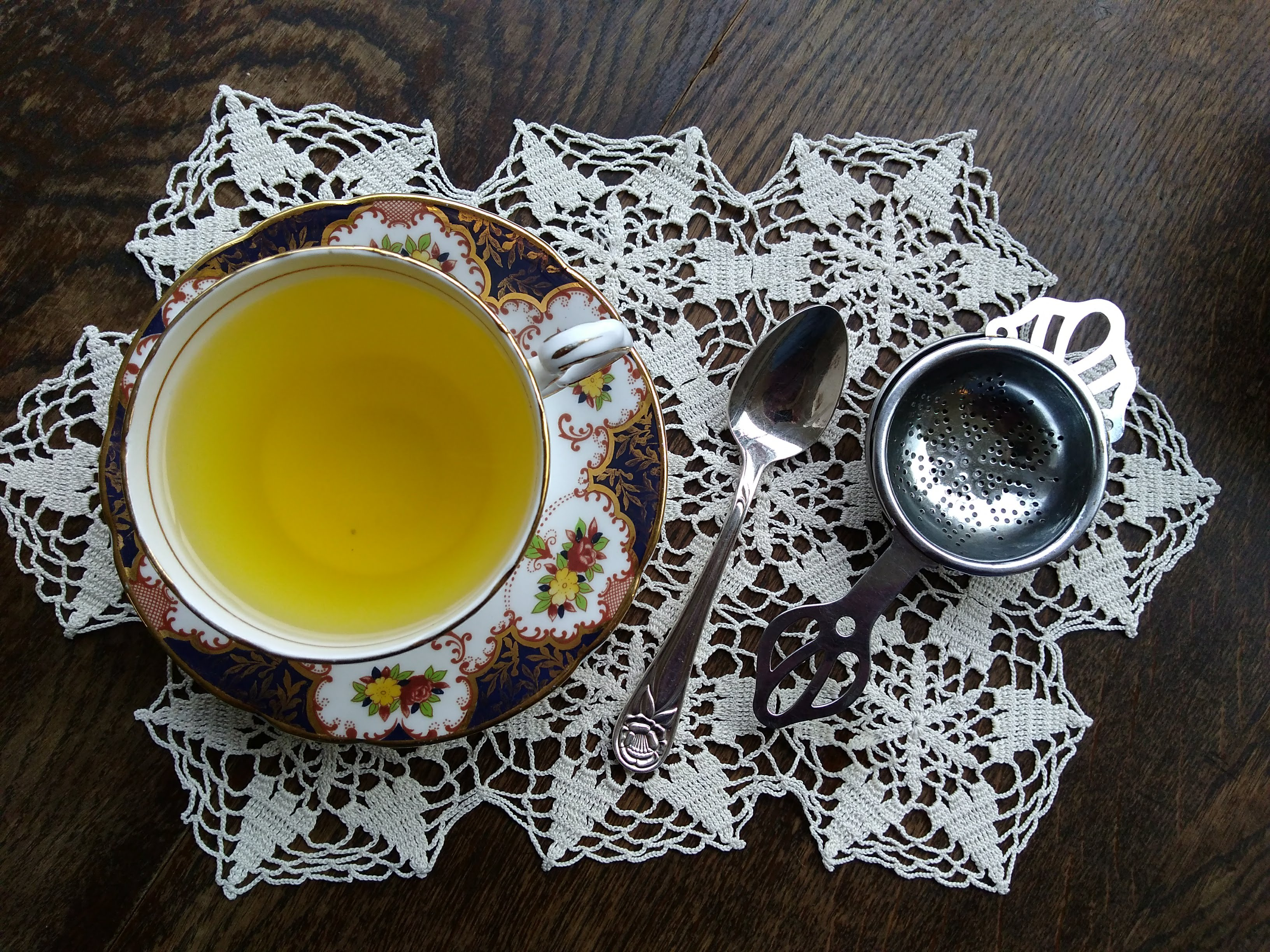 Orange and Turmeric Tea