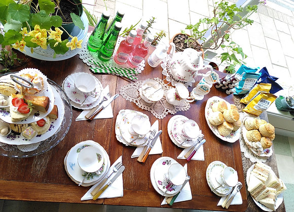 Garden Party Picnic (for six people)