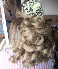 "<img src=""Bridesmaid hair.jpg alt=""half up half down style with fresh flowers"">"