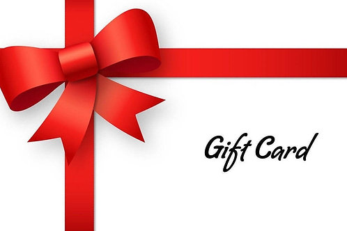 Gift Cards /Certifcates
