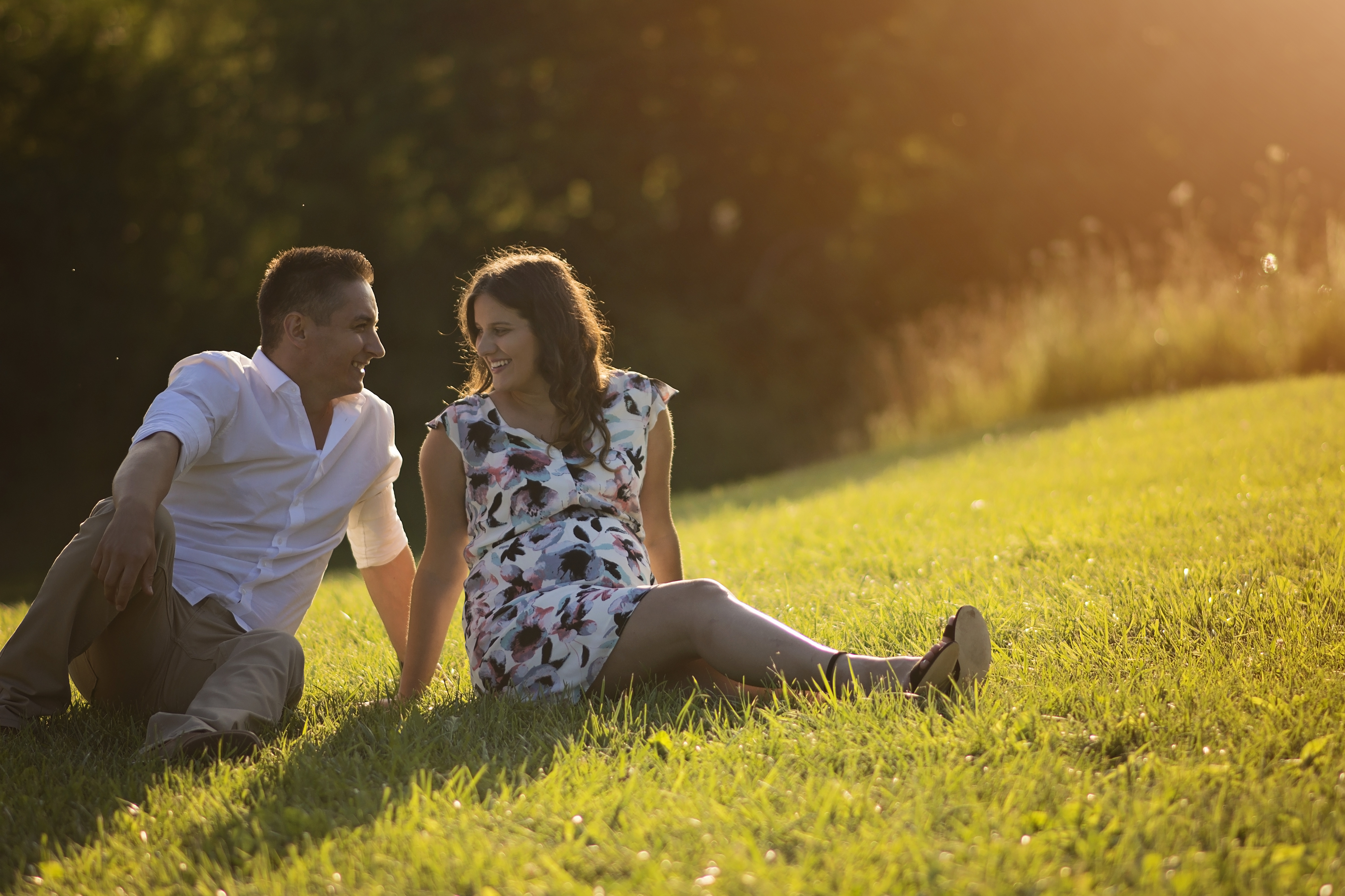 first time parents maternity session