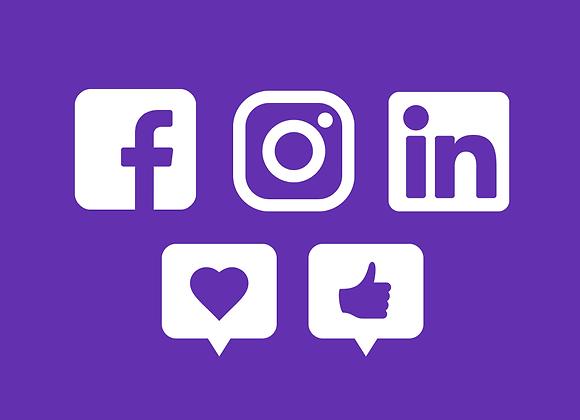 Plano Anúncio em Mídia Social (3 meses)