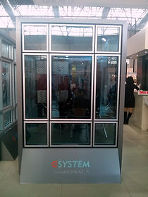 e system alüminyum cerceve cephe