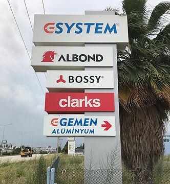 esystem alüminyum