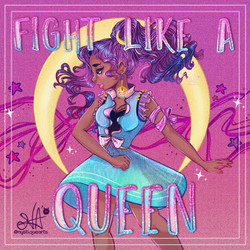 Fight Like A Queen 🎀