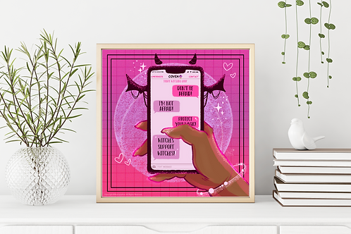 Coven Support Art Print