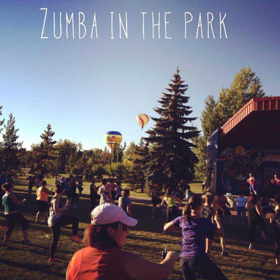 zumba in the park picture