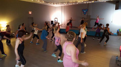 Zumba in action!