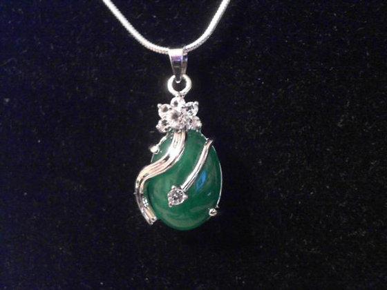 Good Luck Jade Pendant Necklace