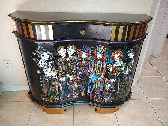 Fantasy Art cabinet