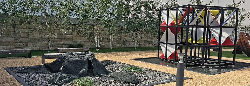 Kunstwerke im Skulpturenpark