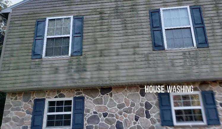 House Washing / Soft Washing