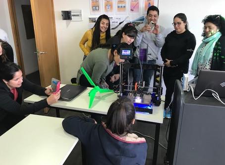 Taller de Aula Digital y Energías renovables Colegio Cono Sur de Río Grande