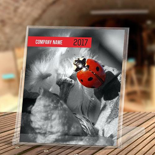 Calendar - Red si Black