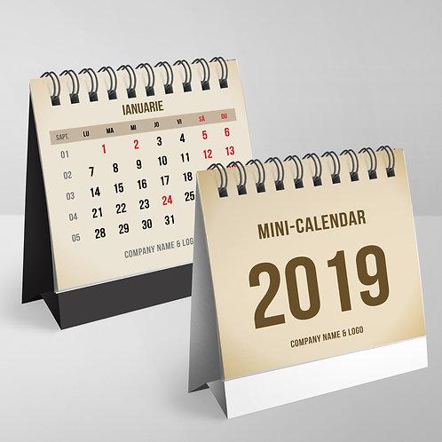 Mini calendar Sepia