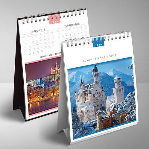 Calendar Castele - 2 luni pe pagina