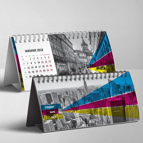 Calendar Benzi tricolore
