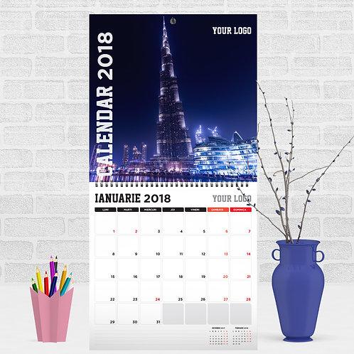 Calendar - City Lights (model 1)