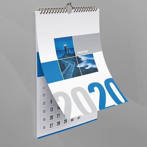 Calendar Rapsody in Blue