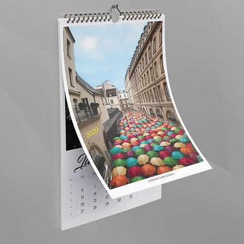 Calendar Umbrele