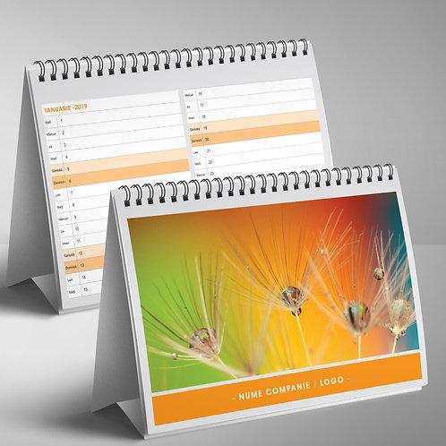 Calendar triptic cu planner