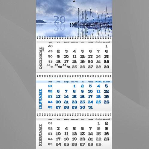 Calendar cu 3 fascicole