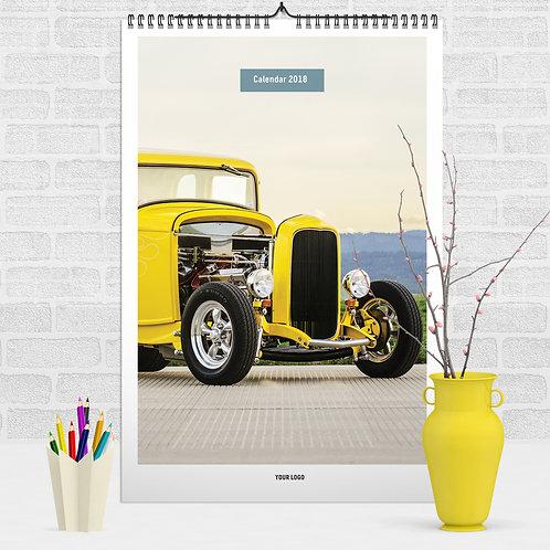 Calendar - Old Cars