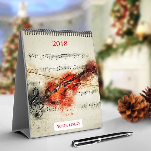 Calendar - Muzica in imagini