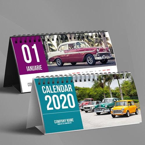 Calendar Retro Cars