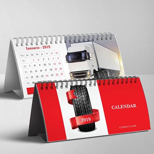 Calendar Camioane