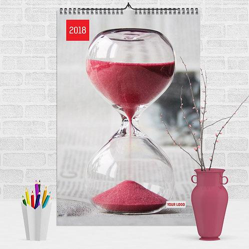 Calendar - Rosu si Negru