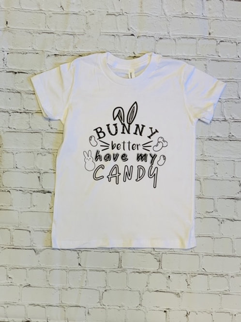 Kids Coloring Shirts: My Candy