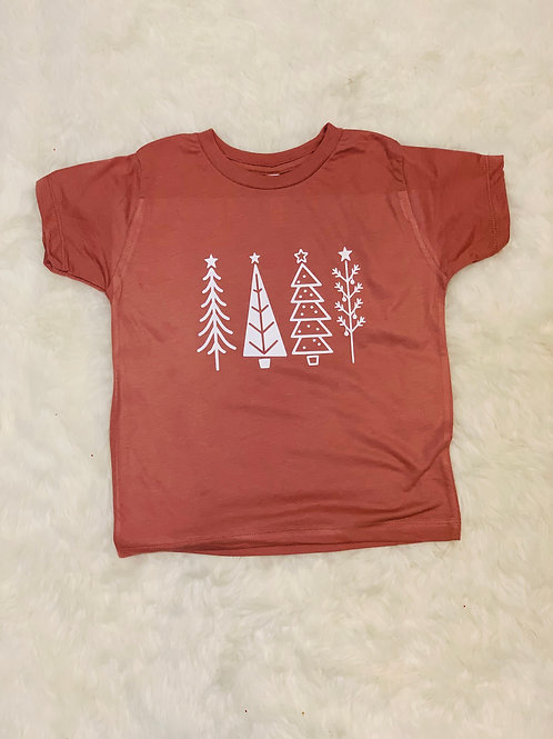 Kids Christmas Tree Tee