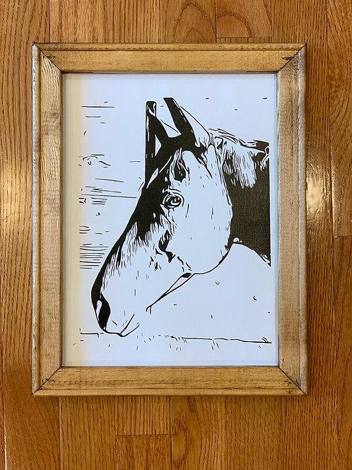 Pet Portrait Wall Hanging