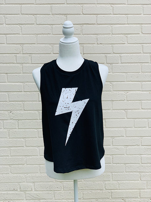 Lightning Crop Top