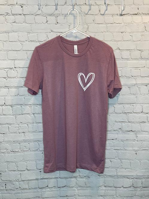 Simple Heart Tee