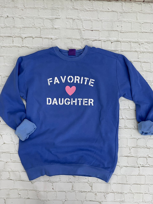 Favorite Daughter crew neck pullover