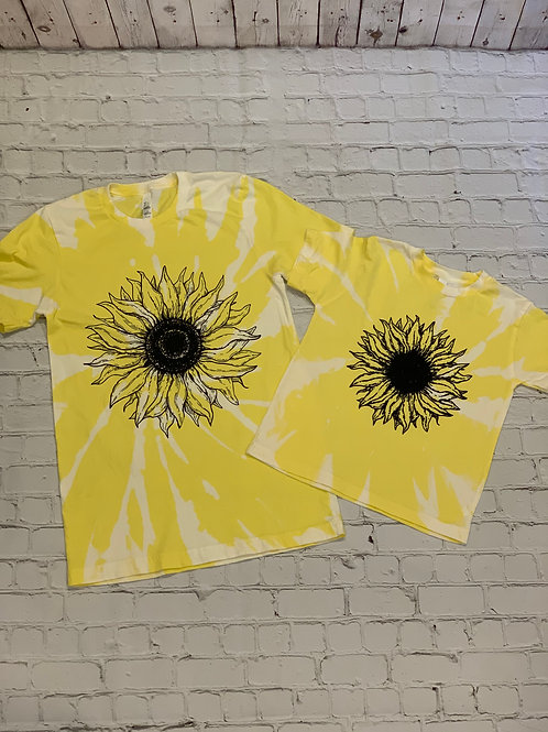 Sunflower Bleached Children's Tee