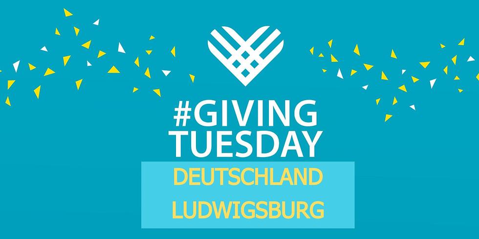 GivingTuesday - Ludwigsburg - MEL e.V. - Tegut - MARSTALL