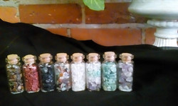 VIALS OF CRYSTALS